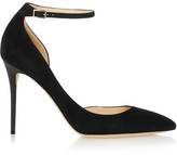 Jimmy Choo Lucy Suede Pumps - Black