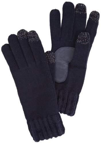 Isotoner Women's Smartouch Chunky Knit 3 Finger Touchscreen Gloves