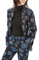Topshop Women's Floral Pajama Blazer