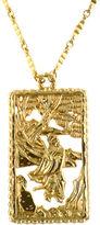 One Kings Lane Vintage Napier Asian Motif Pendant Necklace