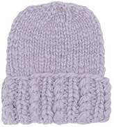 San Diego Hat Company KNH5006 Chunky Knit Beanie with Cuff (Lavender) Knit Hats