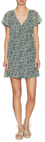 BCBGeneration Printed V-Neck Dress