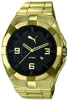 Puma PU-Iconic Metal Gold Black Men's Watch