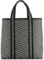 Pierre Hardy Women's White/black Leather Tote.