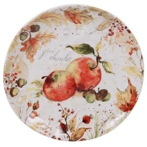 Tracy Porter Certified International Harvest Splash Round Platter
