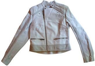 Balenciaga Pink Leather Leather jackets