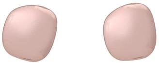Katie Belle Lena 18ct Rose Gold Vermeil Pebble Stud Earrings
