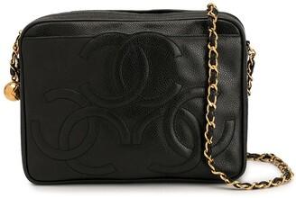 Chanel Pre-Owned triple CC chain shoulder bag