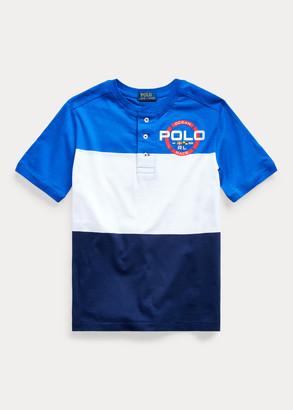 Ralph Lauren Cotton Graphic Henley Shirt