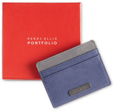 Perry Ellis Portfolio Gift Men's Fabric Card Case