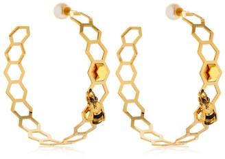 Delfina Delettrez Bee Hive Earrings