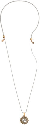 Alex and Ani Leo En Two Tone Necklace