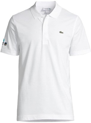 Lacoste Sim-Fit Ribbed Collar Polo