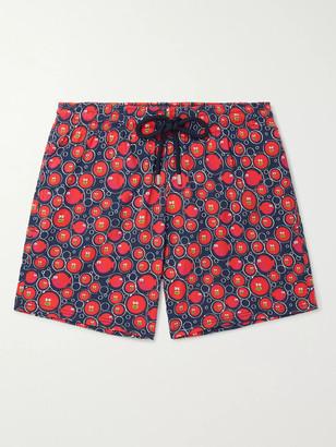 Vilebrequin Moorise Crackers Mid-Length Printed Swim Shorts