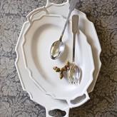 Williams-Sonoma Antique White Platter With Handles