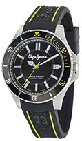 Pepe Jeans Carrie Men's Quartz Watch with Green Dial Analogue Display and Blue Stainless Steel Strap R2353102502