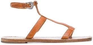 Golden Goose Gladiator Leather Sandals