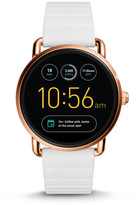 Fossil Q Wander Touchscreen White Silicone Smartwatch