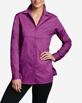 Eddie Bauer Women's Wrinkle-Free Long-Sleeve Tunic - Print