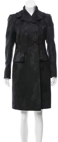 Antonio Marras Patterned Knee-Length Coat w/ Tags