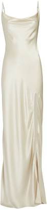 SABLYN Chase Silk Maxi Slip Dress