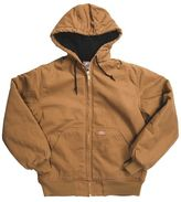 Dickies Hooded Sanded Duck Jacket - Insulated, Quilt Lined (For Men)