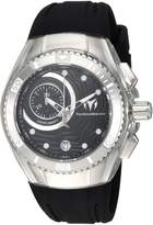Technomarine Women's Cruise Silicone Band Steel Case Quartz Analog Watch TM-115378