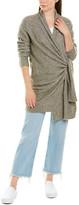 Brochu Walker Wool & Yak-Blend Wrap Sweater