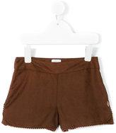 Carrèment Beau - pom pom trim shorts - kids - Viscose - 2 yrs