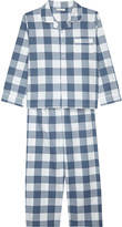 The Little White Company Large gingham cotton pyjamas 5-12 years