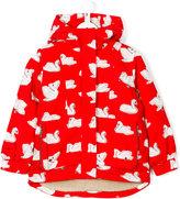 Stella McCartney Rhonda swan print jacket - kids - Polyester - 6 yrs