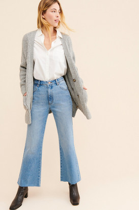 ROLLA'S Eastcoast Cropped Flare Jeans