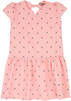 Emile et Ida Bird-Print Cotton Poplin Dress