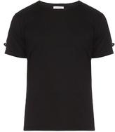 J.w.anderson Strap Detail Cotton T-shirt
