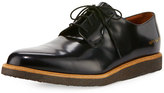 Common Projects Box Calf Leather Blucher, Black