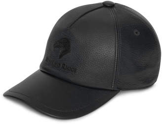 Stefano Ricci Men's Deerskin Leather Baseball Cap