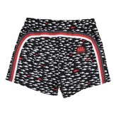 Sundek Tri-Coloured Fish Swim Shorts