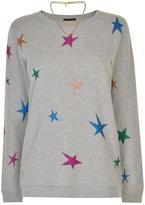 Maison Scotch Glitter Star Sweatshirt