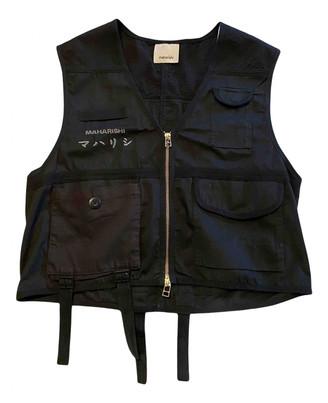 MHI Black Cotton Knitwear