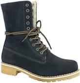 Bos. & Co. Dark Navy Colby Waterproof Suede Boot