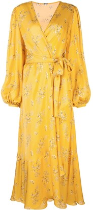 Johanna Ortiz Wrap-Around Long Dress