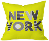 DENY Designs Hot Summer in the City Throw Pillow