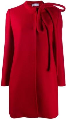 RED Valentino Bow-Embellished Coat