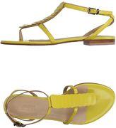 Armani Collezioni Toe strap sandals