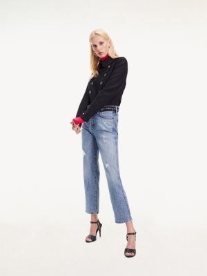 Tommy Hilfiger Classic Straight Fit High Waist Jeans