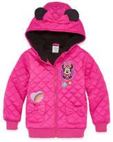 Disney Minnie Mouse Lightweight Puffer Jacket - Girls