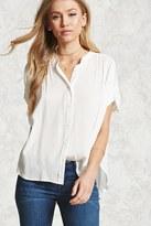 Forever 21 Gauze Dolman Shirt