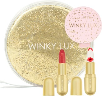 Winky Lux Sleigh All Day Full Size Glimmer Balm & Flower Balm Duo