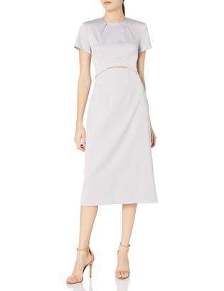 Elliatt Women's Apparel Women's Priscilla Cap Sleeve Cut Out Midi Sheath Dress