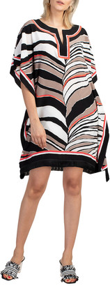 Trina Turk Theodora Striped Silk Dress